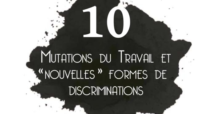 Sortie du N°10 des cahiers de la lutte contre les discriminations